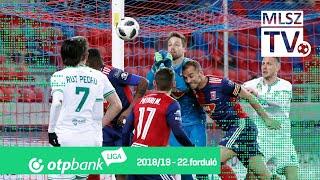 Mol Vidi FC – Szombathelyi Haladás | 1-0 | (0-0) | OTP Bank Liga | 22. forduló | MLSZTV