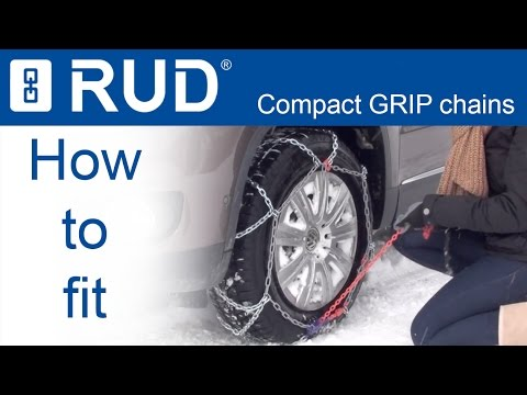 RUD compact GRIP Snow chains - Fitting instruction