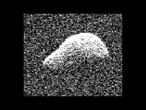 Flyby Comet Imaged By Radar