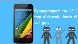 How to install Cyanojenmod on Moto G 1st Generation!!! AND TWRP RECOVERY!!!