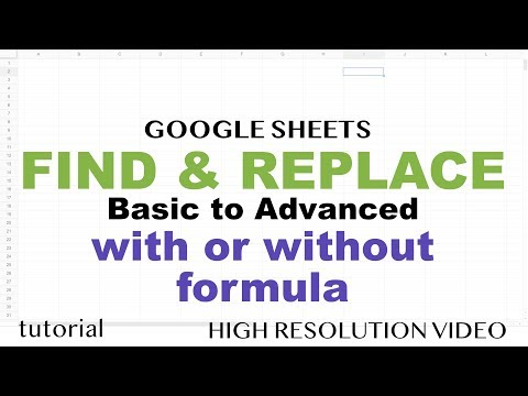 Google Sheets - Find and Replace with Functions or Without SUBSTITUTE, RegEx, Wildcards Tutorial