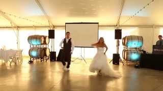 "Surprise Wedding Dance!! Dirty Dancing ""Time of My Life"", ""Dirty Bit"", ""Pump It""..."