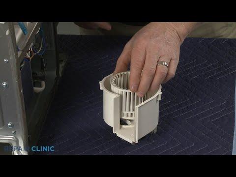 Blower Wheel - Whirlpool Microwave Oven/Hood Combo  #WMH73521CS6