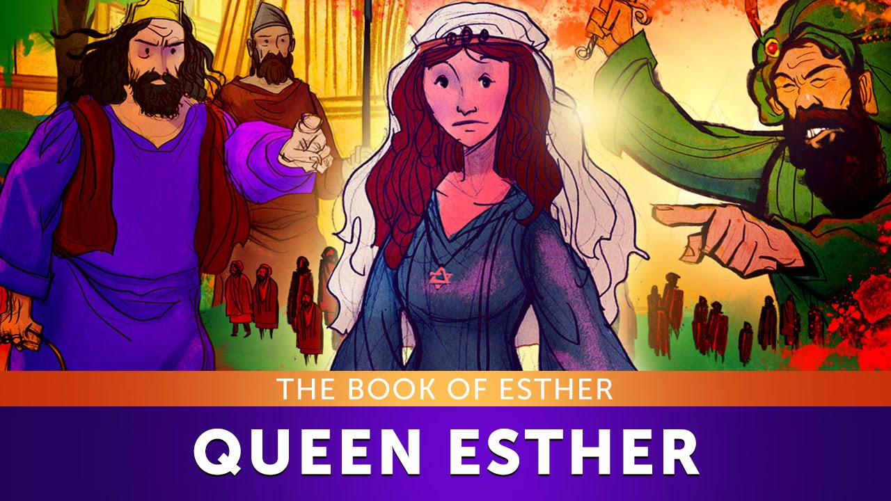 sunday lesson for children queen esther the book of