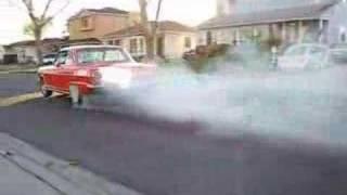 1964 Chevy Nova Burnout