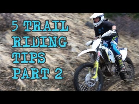Trail Riding Tips PART 2