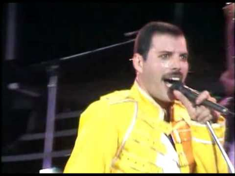 Queen - Under pressure (Live at Wembley)