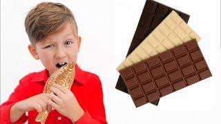 Senya وتحدي طعام الشوكولاتة