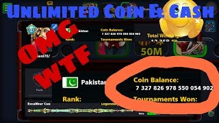 OMG Unlimited Cash & Coin 8 ball pool