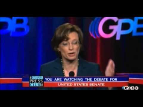Michelle Nunn Spends Nearly 2 Mins Again Dodging If She Supports Harry Reid
