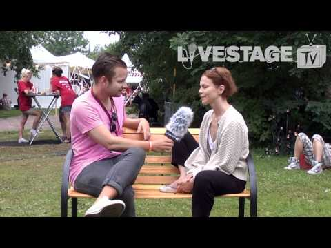 Livestage TV - Peace & Love 2011 - Anna Järvinen om sitt gig på festivalen