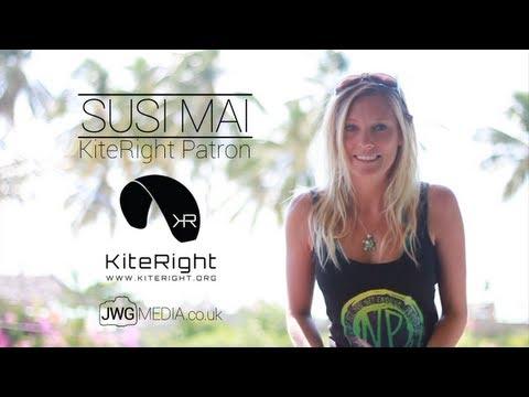 Susi Mai - KiteRight Patron