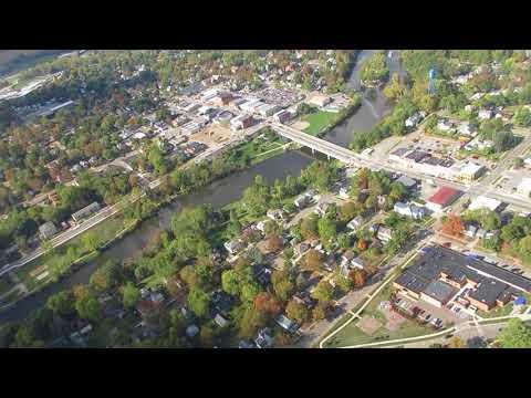 Fall Color Aerial Tour @ Grand Ledge, Michigan. - Takeoff 10/13/17