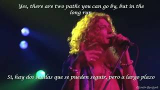 Led Zeppelin-Stairway to Heaven (sub esp  english)