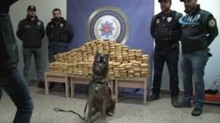 165 kilogram eroin ile yakalanan 2 şahıs tutuklandı
