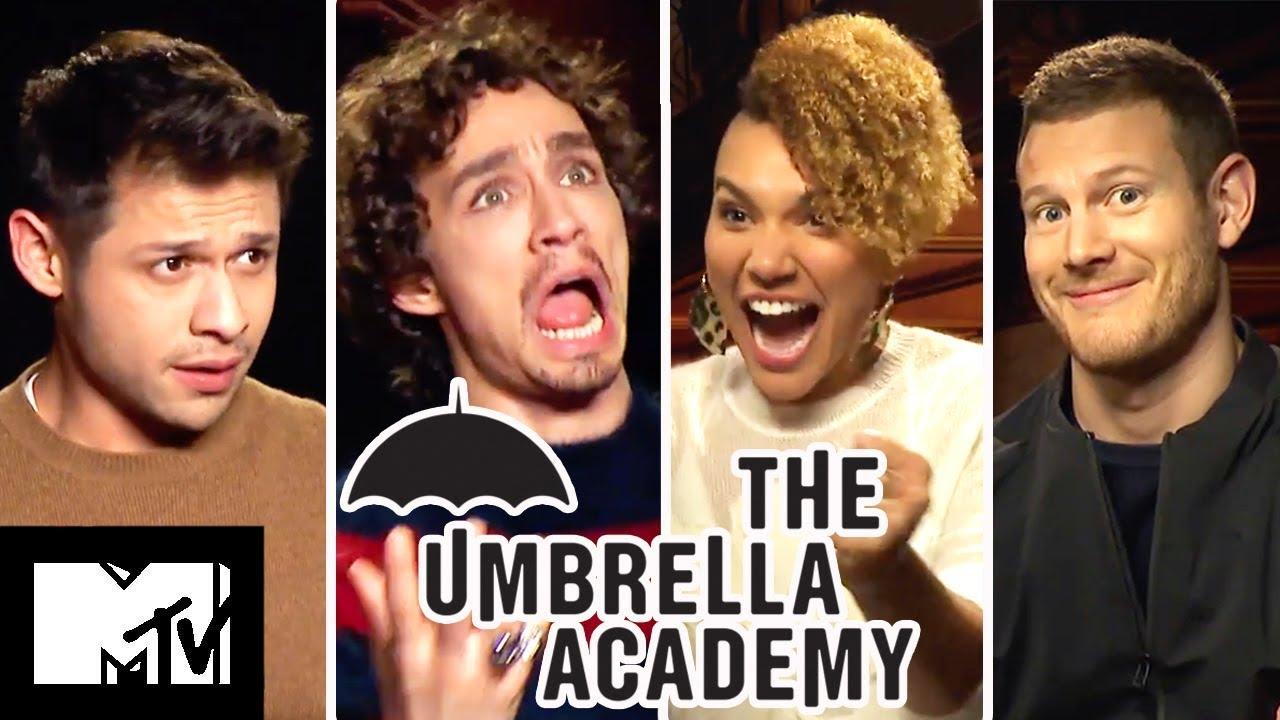 The Umbrella Academy Cast Play Who Said It?   MTV Movies