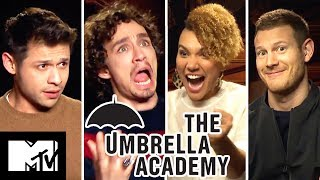 The Umbrella Academy Cast Play Who Said It? | MTV Movies