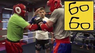 Как стать бойцом тайского бокса за 3 месяца? Басынин берется за Женю! Шоу