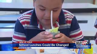School Lunch Changes Coming