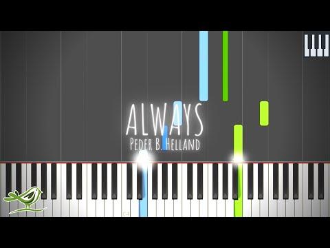 Always - Peder B. Helland [Synthesia Tutorial]