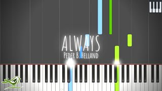 Always - Peder B. Helland [Synthesia Tutorial]