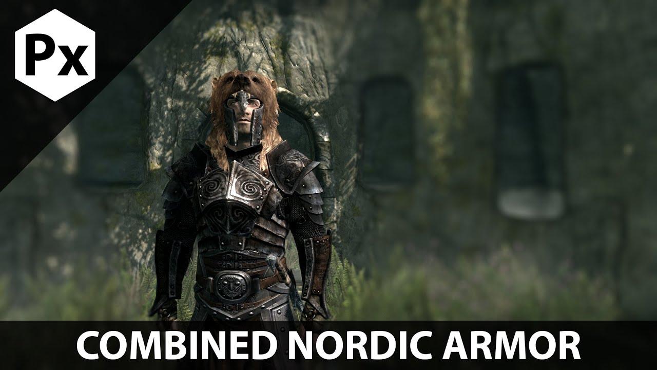Skyrim Mod Spotlight Combined Nordic Armor Youtube