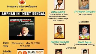 Amphan in West Bengal - a Webinar by Association for development of West Bengal