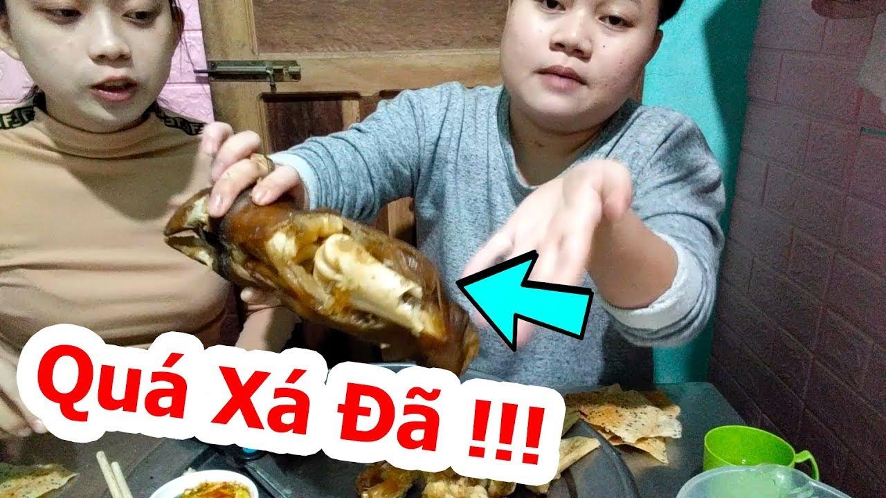 Thèm Gân Bò Mua Hẳn 2 Cái Chân Bò Về Ăn Cho Đã Thèm – Quá Xá Đã – NAH Vlog