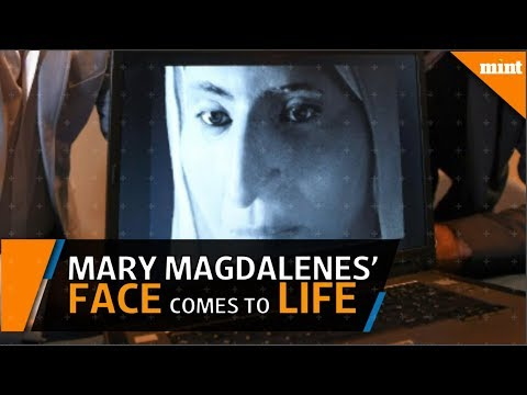 French scientists reconstruct the face of Mary Magdalene