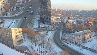 Astakada Владивосток ДТП Занос 1 января 2018 ул. Ивановская