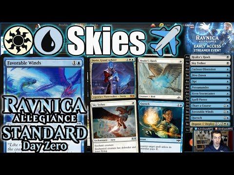 Ravnica Allegiance Standard Day Zero: Azorius Skies! Early Access Sponsored Streamer Event