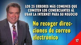 Error 17 - No Recoger Direcciones de Correo Electrónico