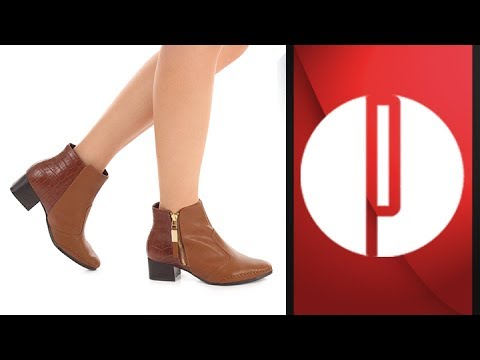 1a25c7fb0 Ankle Boots Feminina Ramarim - 6010497883 - YouTube