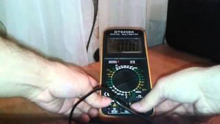 dt9208a digital multimeter