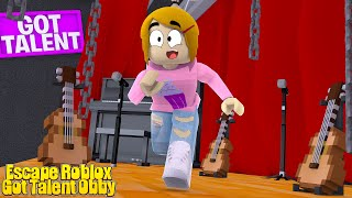 Roblox Escape Got Talent With Molly!
