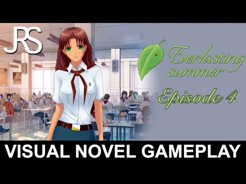 Let's Play Everlasting Summer #4   Visual Novel Gameplay
