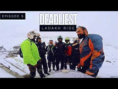 DEADLIEST LADAKH RIDE | EPISODE 05