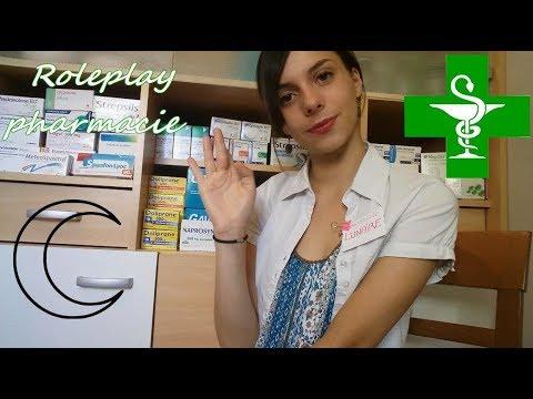 Roleplay pharmacie - ASMR Français