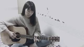 Gambar cover 宇多田ヒカル - 真夏の通り雨 (solo guitar)