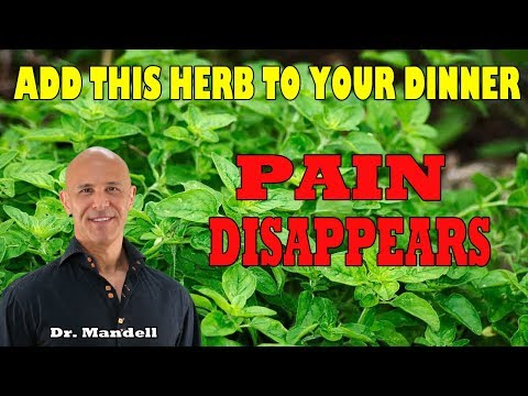 Back Pain Disappears...Add This Herb To Your Dinner - Dr Alan Mandell, DC