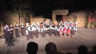 Minoan Dancers, Thracian, Dora Stratou Theater 2001