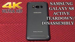 Samsung Galaxy S8 Active Disassembly Teardown Repair Video