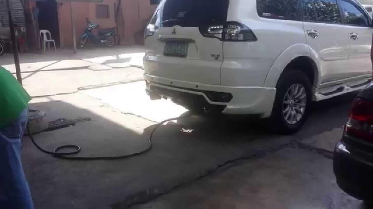 Emission Test on Montero Sport GLS-V EGR Blanked