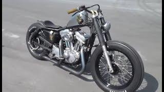Harley Davidson Sportster Old School Bobber Potato Sound