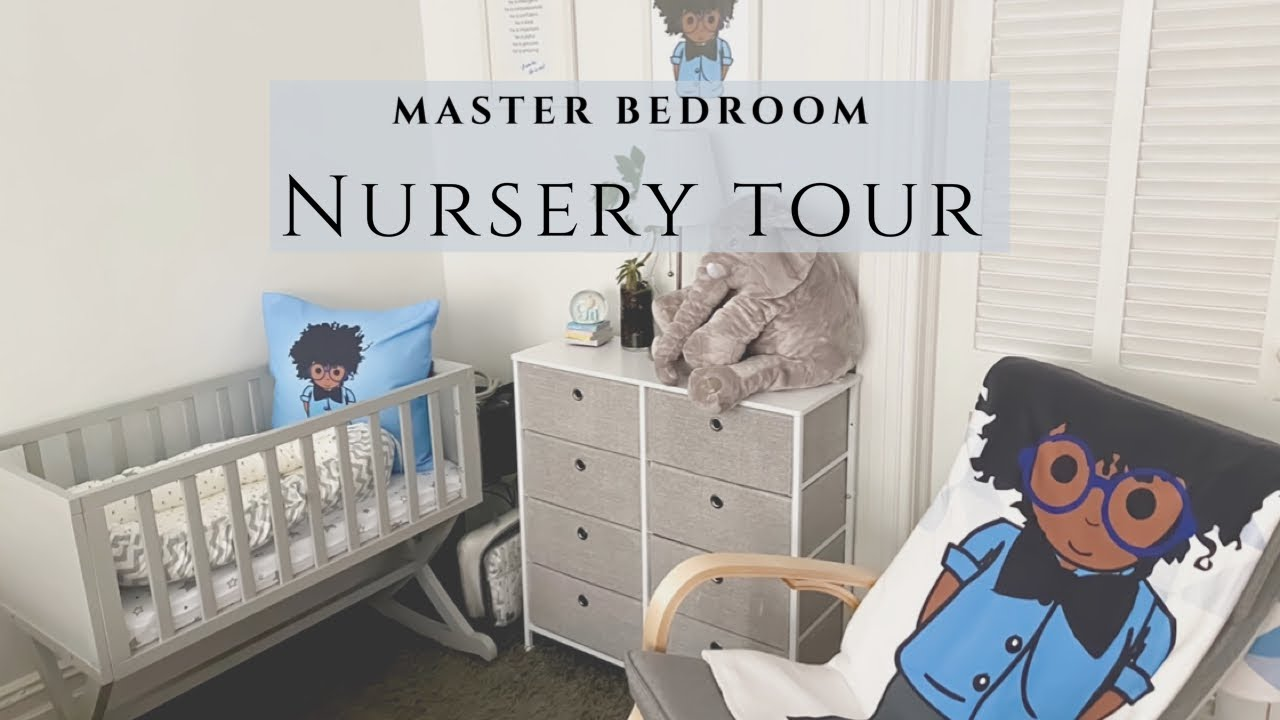 Nursery Nook in Master Bedroom