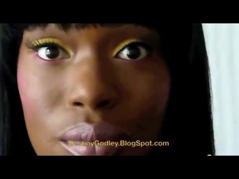 Nicki Minaj-  Super Bass DIY Halloween Tutorial