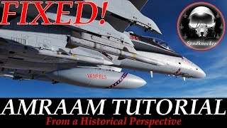 FIXED! DCS: F/A-18C Hornet | AIM-120 AMRAAM Tutorial From A Historical Perspective