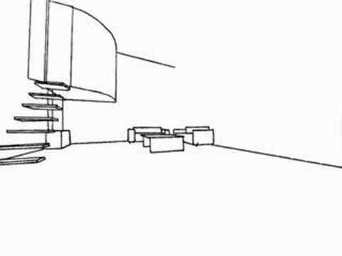 Ozenfant Perspective of the Upper Floor