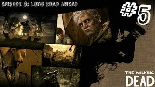 The Walking Dead - Episode 3 - Gameplay Walkthrough - Part 5 - THE LOCOMOTIVE (Xbox 360/PS3/PC)