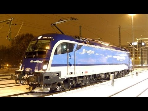 Taurus in Dresden: ČD railjet 1216 237 übernimmt EC 179; MRCE 182 024 mit NX-Ersatzzug (Sachsen-MRB)